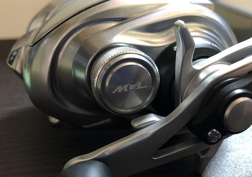 メタニウムMGLのメカニカルブレーキ画像