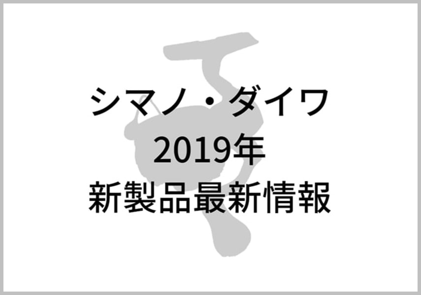 2019年新製品リールイメージ画像